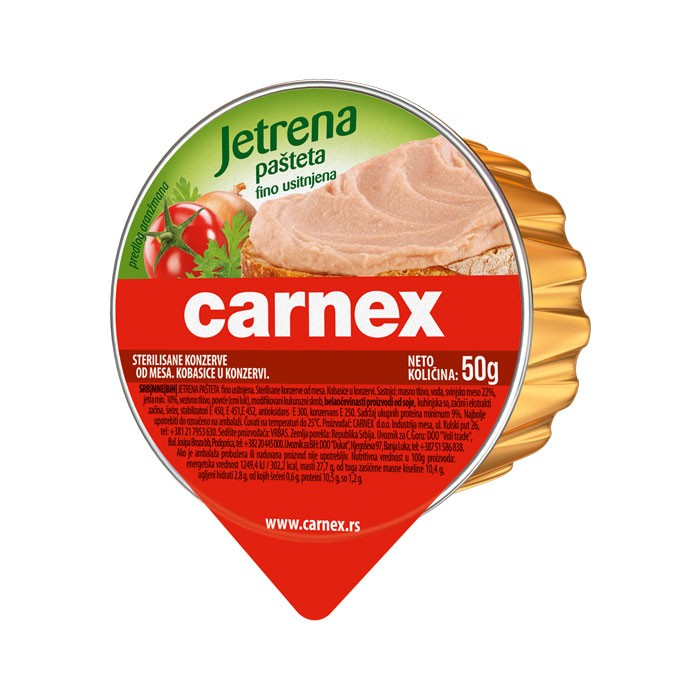 Jetrena pašteta 50 g