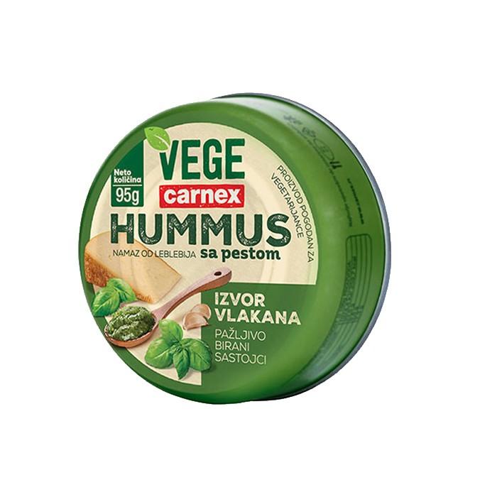Hummus sa pesto sosom 95g