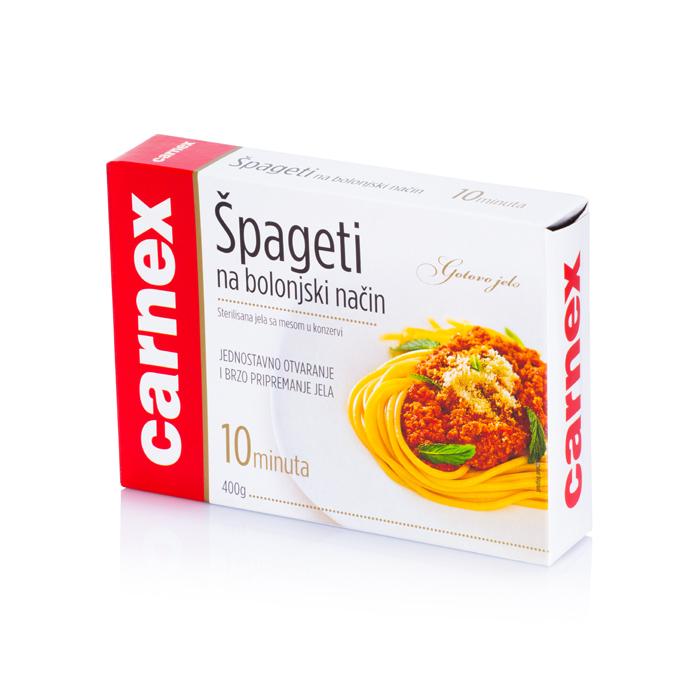 Špagete na bolonjski način 400g